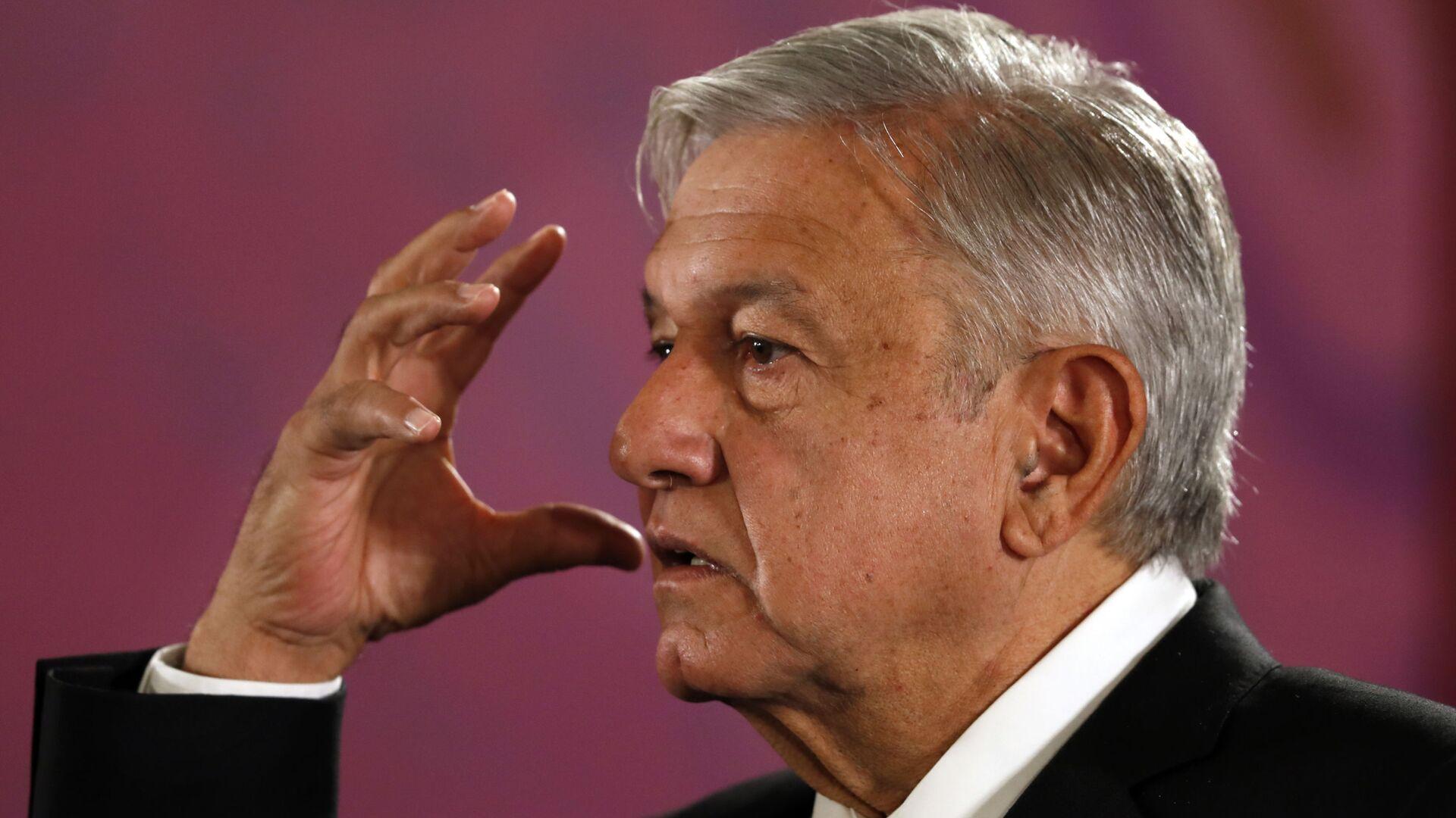 Andrés Manuel López Obrador, presidente de México - Sputnik Mundo, 1920, 28.05.2021
