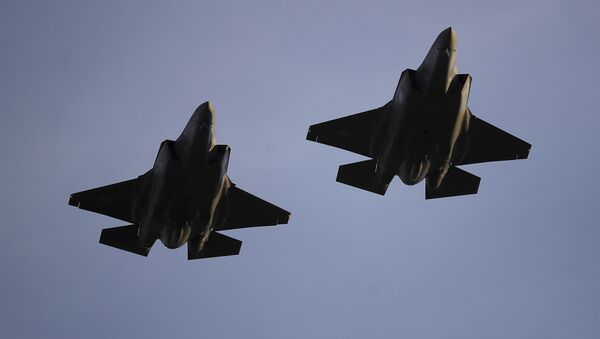 Los cazas F-35A de la Fuerza Aérea de EEUU - Sputnik Mundo