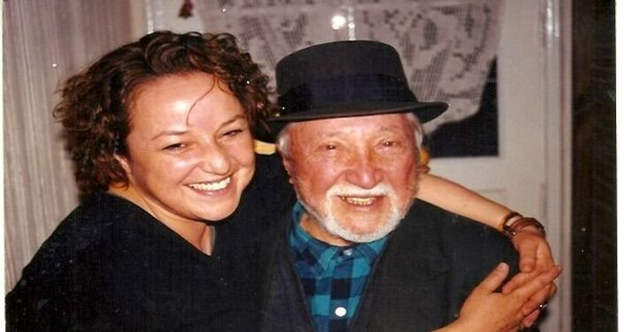 Viviana Corvalán con su padre Luis Corvalán