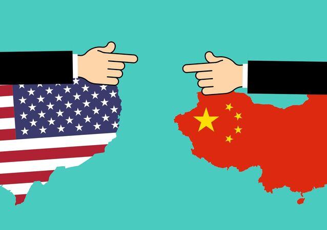 La guerra comercial de China y EEUU (imagen referencial)