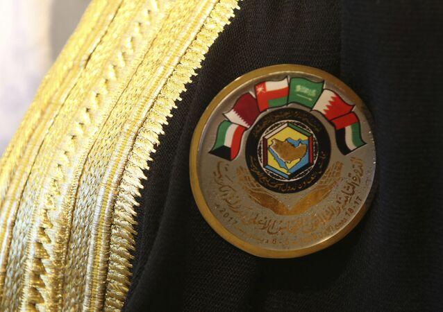El logo de los Estados Árabes del Golfo