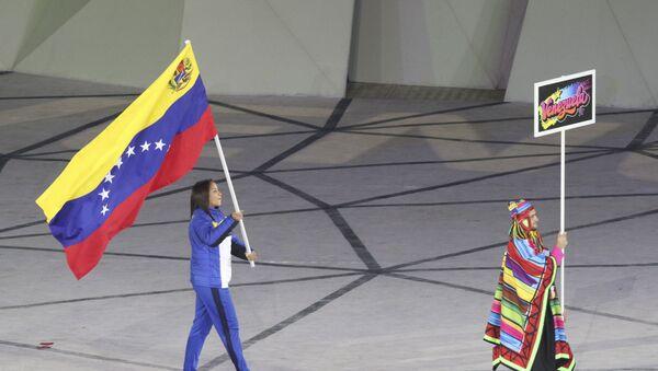 Elvismar Rodriguez, abanderada de Venezuela en los Juegos Panamericanos de Lima 2019 - Sputnik Mundo