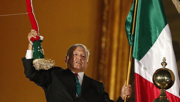 Andrés Manuel López Obrador el presidente de México - Sputnik Mundo