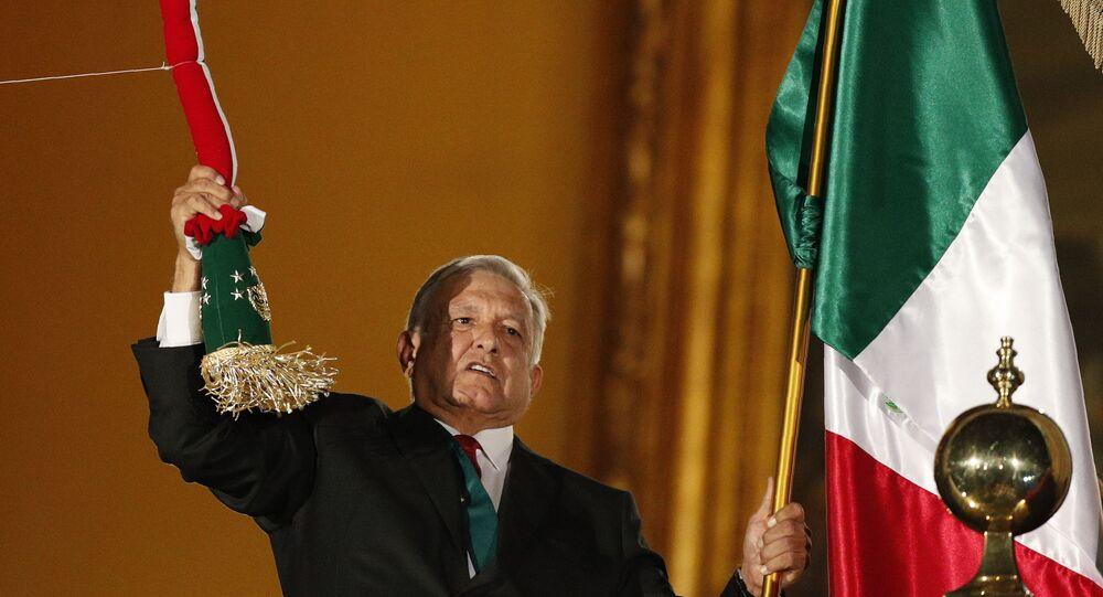 Andrés Manuel López Obrador el presidente de México