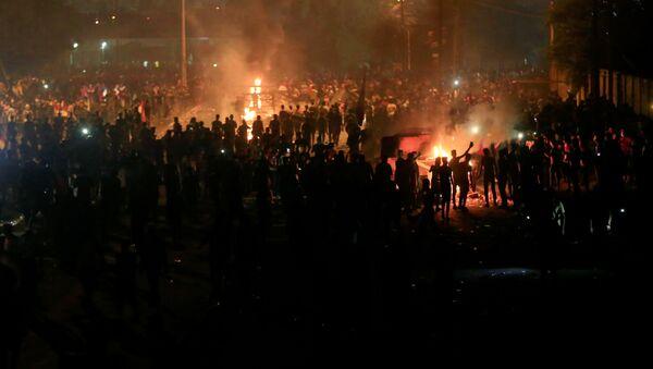 Protestas en Irak - Sputnik Mundo