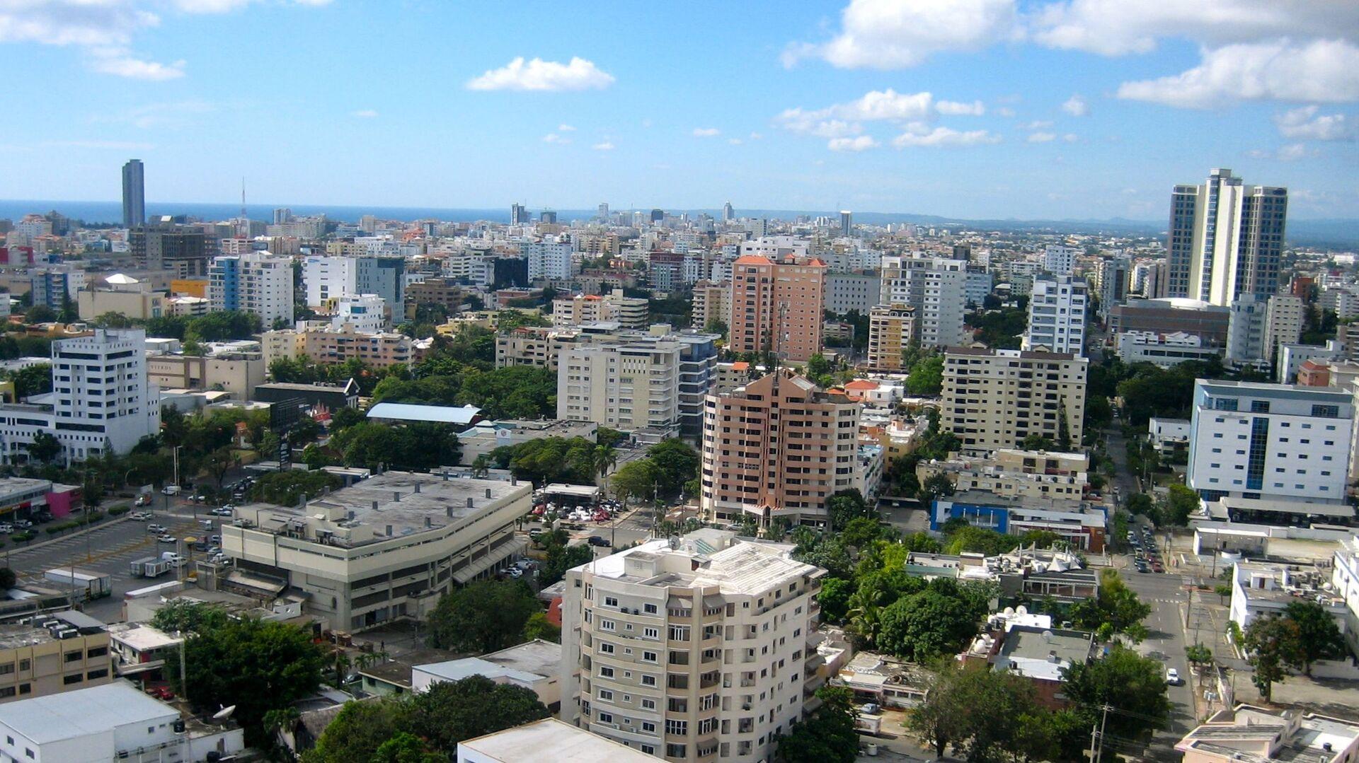 Santo Domingo de Guzmán, capital de la República Dominicana  - Sputnik Mundo, 1920, 11.08.2021
