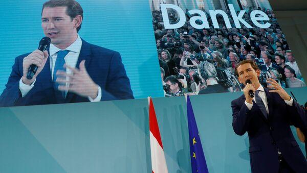 Sebastian Kurz, excanciller de Austria - Sputnik Mundo