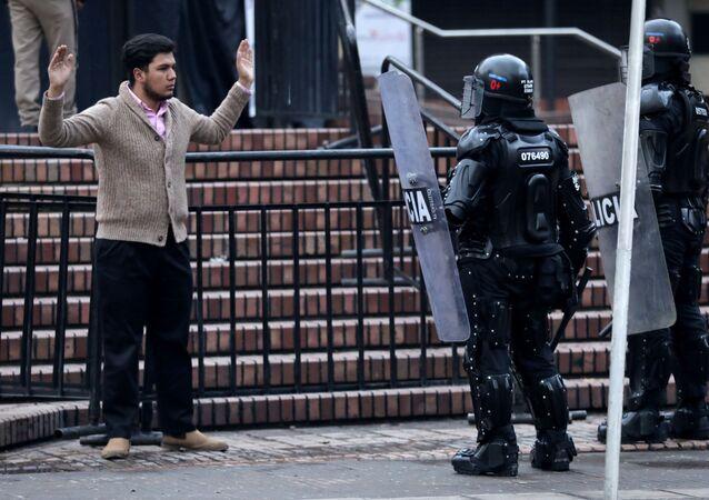 Protestas en Colombia (Archivo)