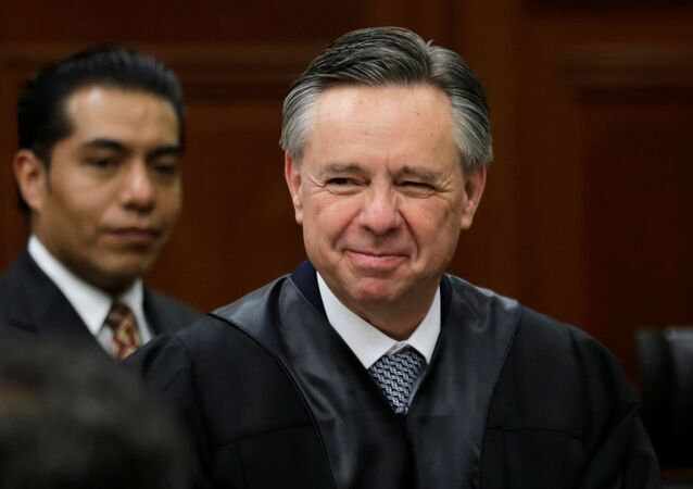Medina Mora, exministro de la Suprema Corte de Justicia de la Nación de México (archivo)