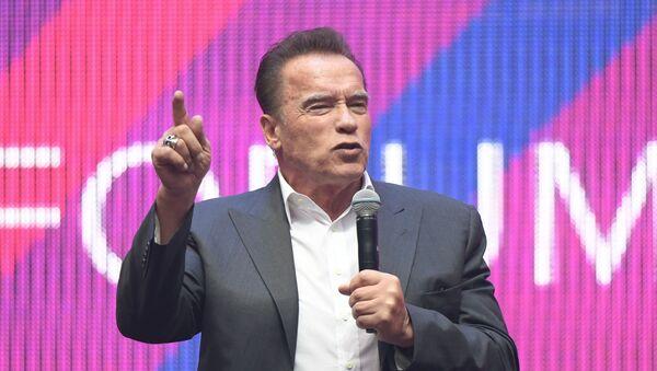 Arnold Schwarzenegger, el actor estadounidense  - Sputnik Mundo