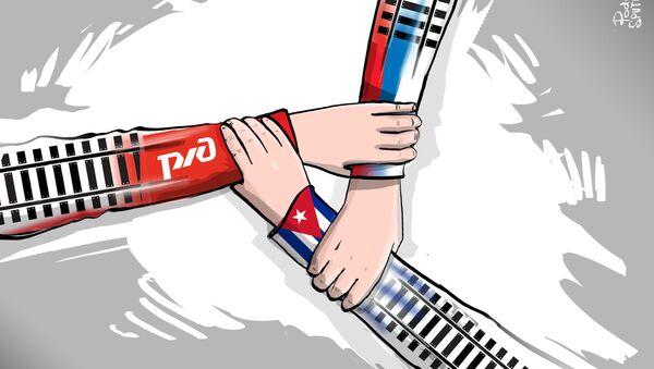 El ferrocarril que 'unirá' Rusia y Cuba - Sputnik Mundo