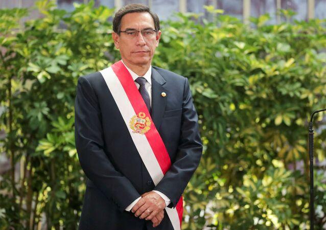 Martín Vizcarra, presidente de Perú
