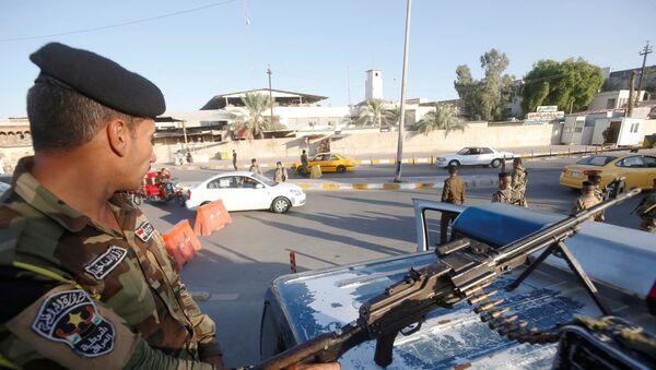 Policía iraquí  - Sputnik Mundo