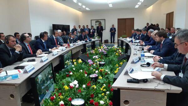 La reunión de la Comisión Intergubernamental de Alto Nivel Rusia-Venezuela en Caracas - Sputnik Mundo