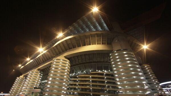 El estadio San Siro en Milán, Italia - Sputnik Mundo