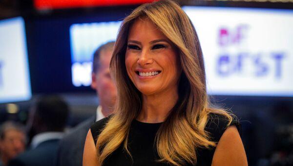 Melania Trump, primera dama de Estados Unidos - Sputnik Mundo