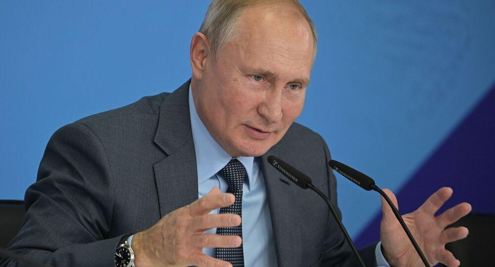Vladímir Putin, el presidente ruso