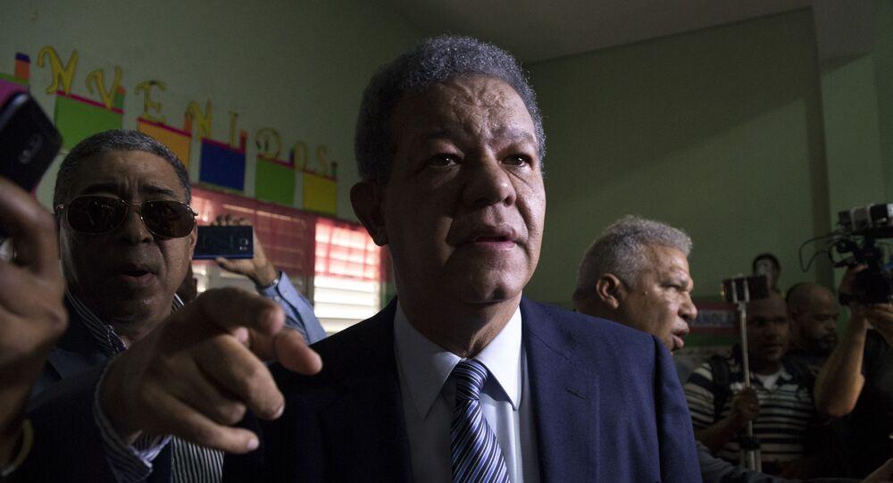 El expresidente de República Dominicana Leonel Fernández