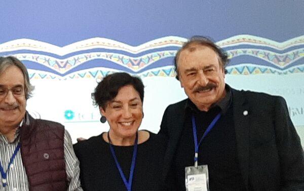 Participantes del foro, foto de familia - Sputnik Mundo