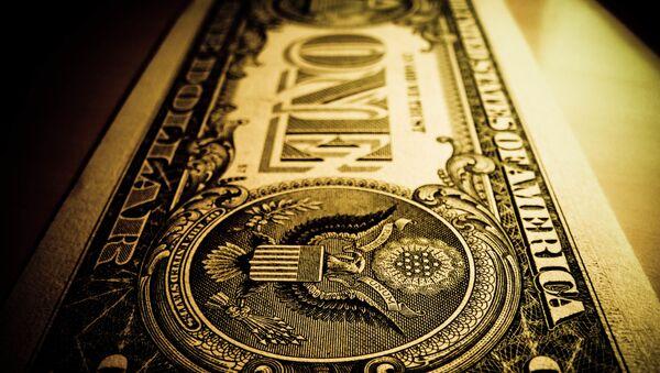 El billete de un dólar - Sputnik Mundo
