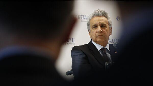 Lenín Moreno, el presidente ecuatoriano - Sputnik Mundo