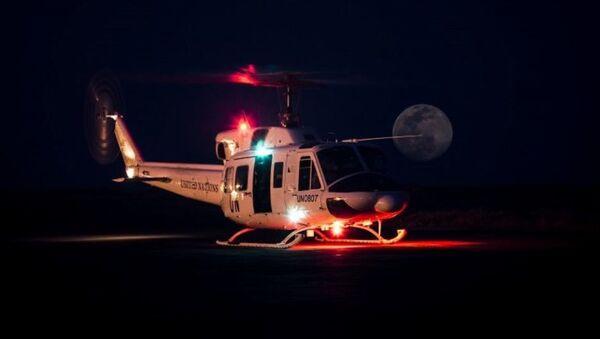 Bell 212 Twin Huey, de la Fuerza Aérea Uruguaya - Sputnik Mundo