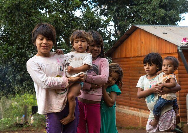Niños atendidos por Unicef Argentina