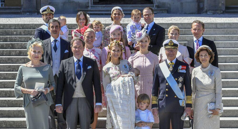 La familia real de Suecia