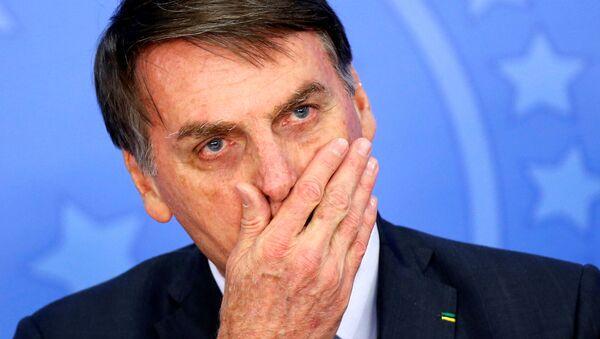 Jair Bolsonaro, el mandatario brasileño - Sputnik Mundo