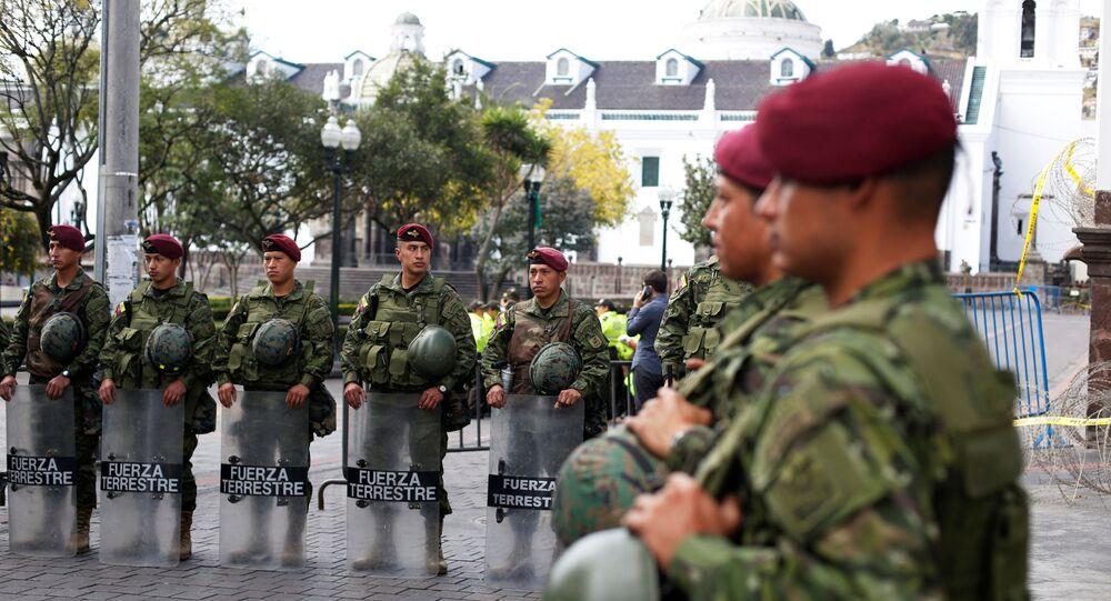 Militares de Ecuador