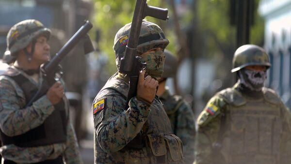 Los militares de Ecuador - Sputnik Mundo