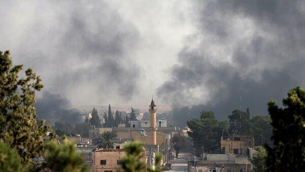 Consecuencias de la operación turca en Siria, ciudad de Tell Abiad - Sputnik Mundo
