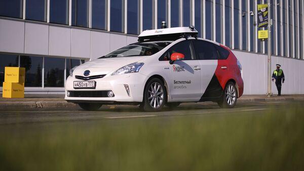 El taxi robótico de Yandex - Sputnik Mundo