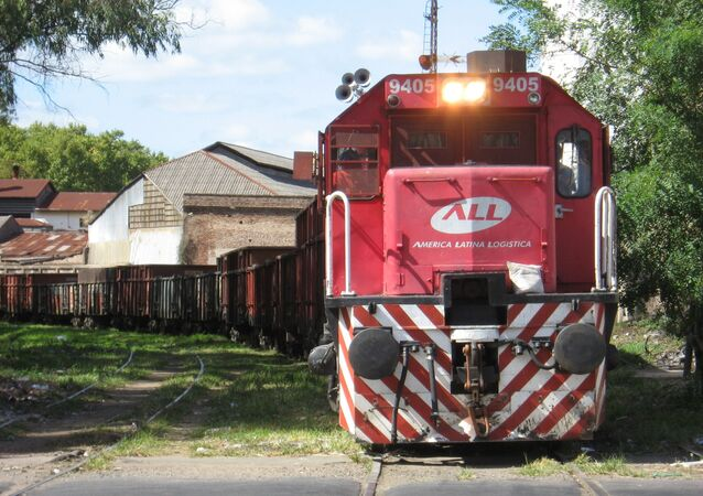 Tren de carga argentino