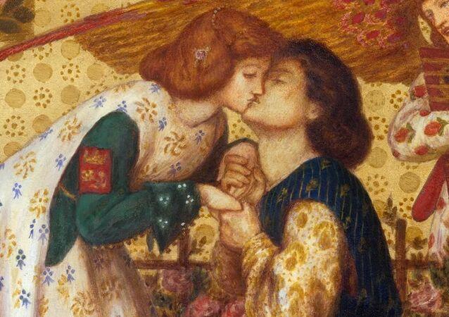 'Le Roman de la Rose', una obra de Dante Gabriel Rossetti