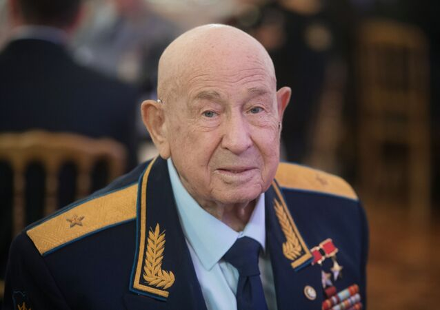 Alexéi Leónov, el cosmonauta ruso