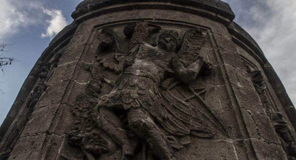 Restos de la Ermita dedicada a San Hipólito mandada hacer por Hernán Cortes dedicada a los españoles muertos en la Noche Triste
