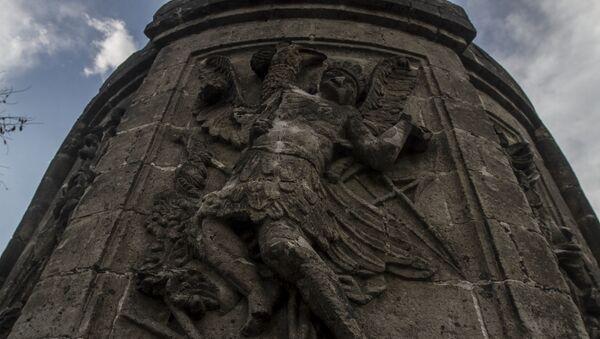 Restos de la Ermita dedicada a San Hipólito mandada hacer por Hernán Cortes dedicada a los españoles muertos en la Noche Triste - Sputnik Mundo