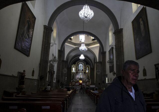 Iglesia dedicada a San Hipólito en la Ciudad de México, la primera construcción colonial después de la conquista de los españoles a Tenochtitlán