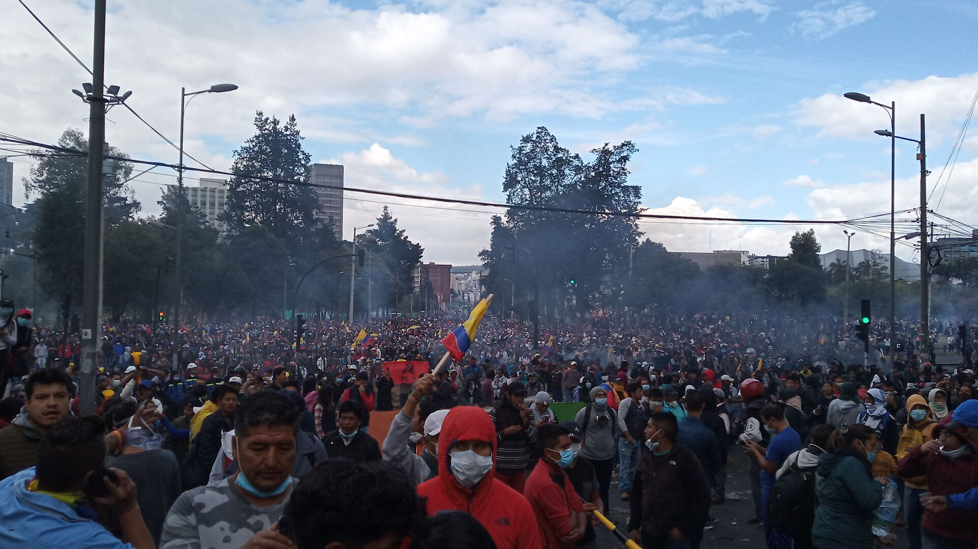 Protestas en Quito, Ecuador - Sputnik Mundo, 1920, 19.03.2021