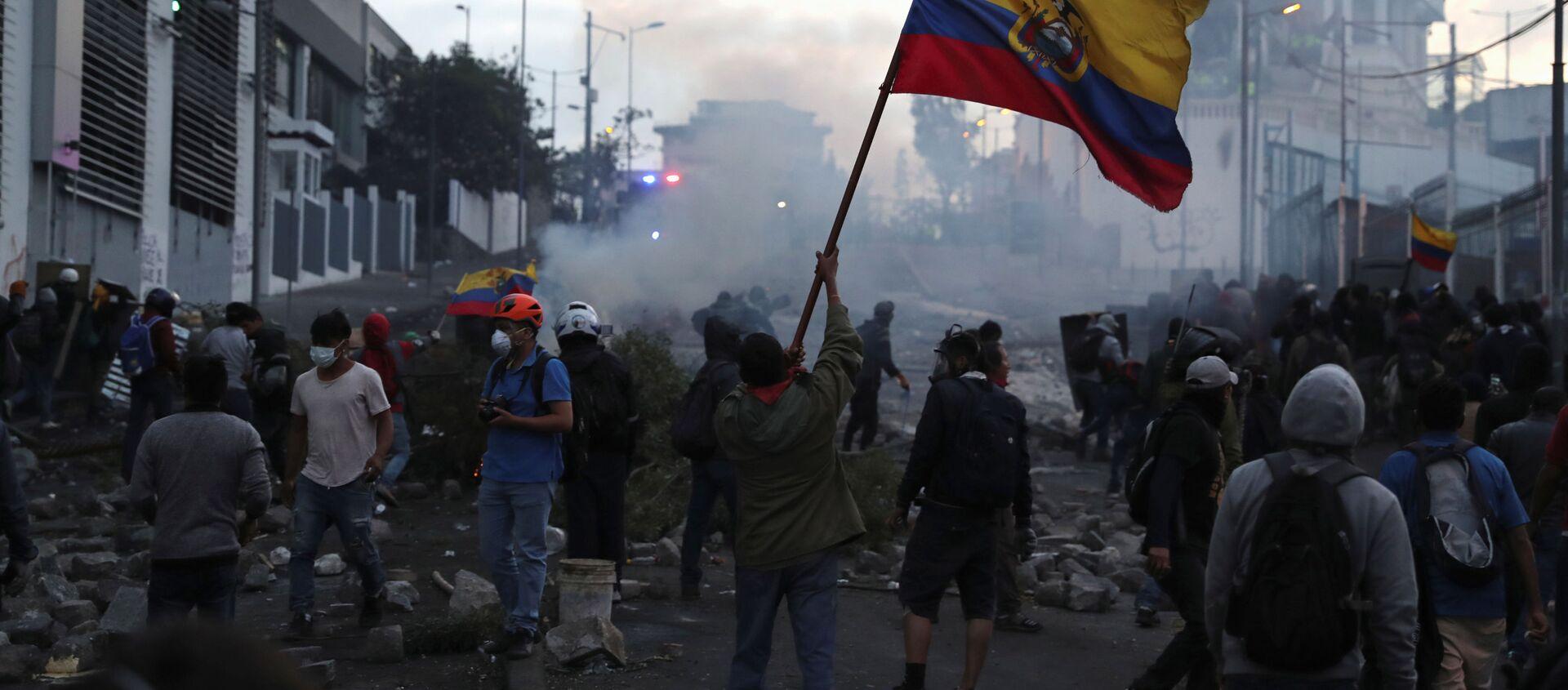 Protestas en Quito, Ecuador - Sputnik Mundo, 1920, 16.10.2019