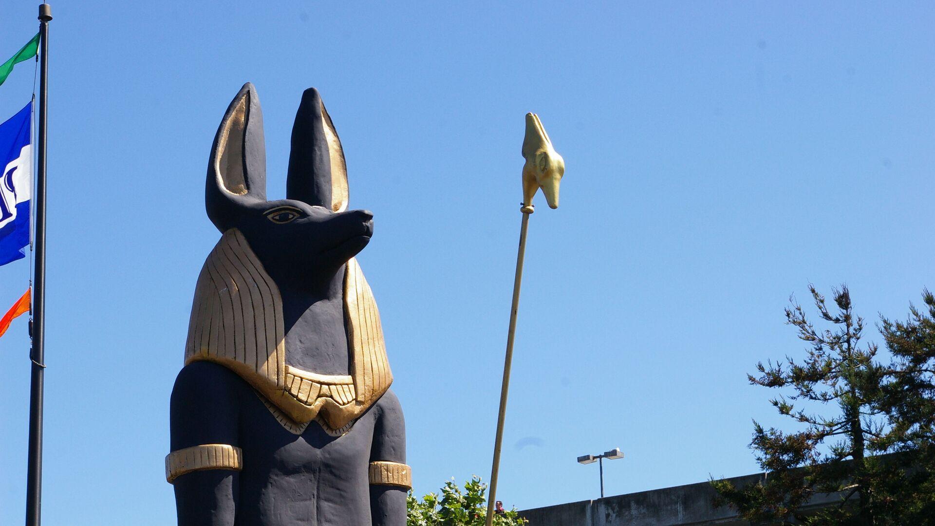 Estatua de Anubis, dios de la muerte egipcio - Sputnik Mundo, 1920, 26.08.2021