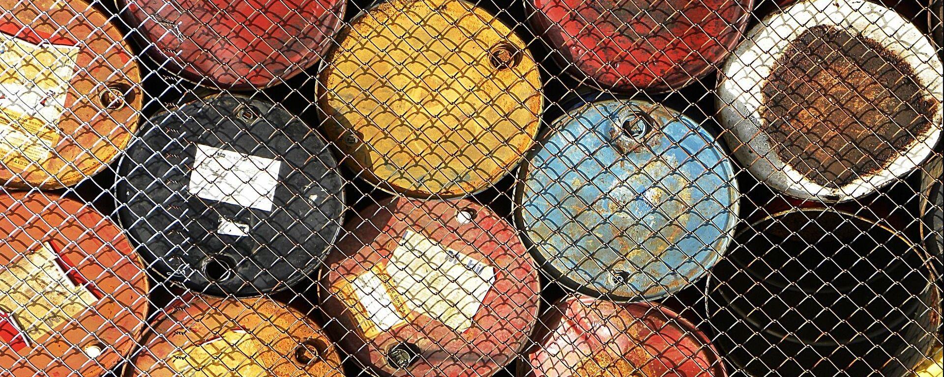 Barriles de petróleo - Sputnik Mundo, 1920, 15.04.2020