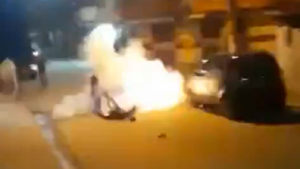 Una bomba casera explota en el bolsillo de un hombre en Brasil - Sputnik Mundo