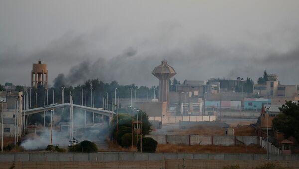 Situación en la frontera entre Turquía y Siria - Sputnik Mundo