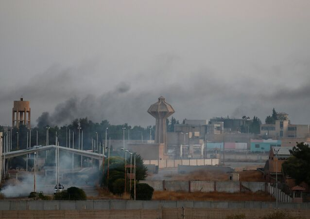 Situación en la frontera entre Turquía y Siria