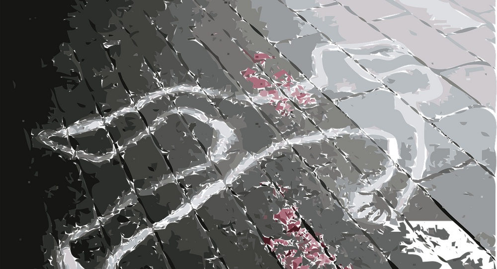 Un lugar de homicidio (imagen referencial)