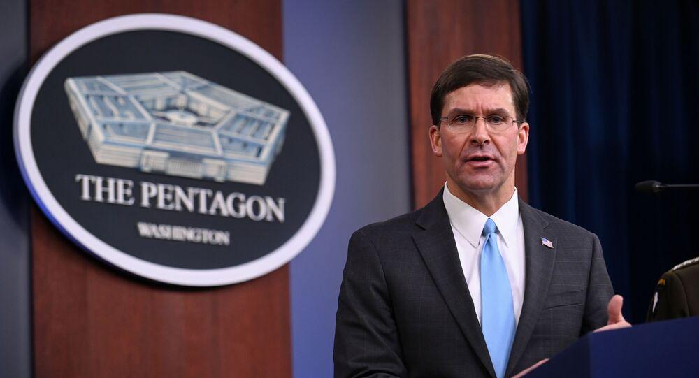 Mark Esper, secretario de Defensa de EEUU