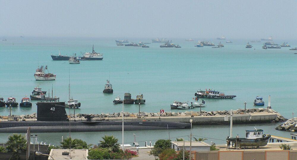 Puerto del Callao, Perú
