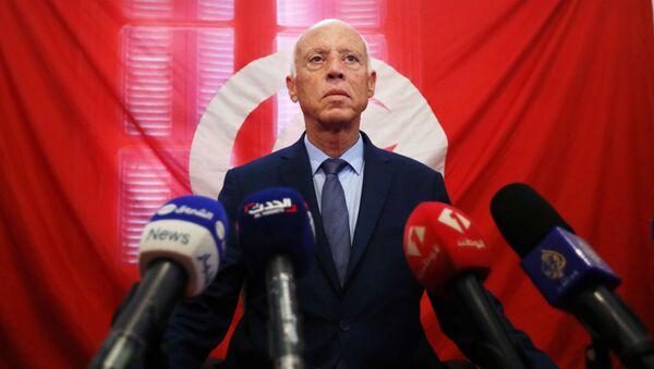Kais Saied, presidente electo de Tunéz - Sputnik Mundo